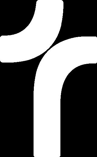 Risttee koguduse valge logo
